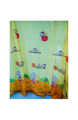 Fabric Tent, Veil Hello Kitty Yellow with Facione Orange High 280 Cm