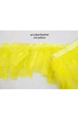 50 Cm Leather Trimmings Feathers Ostrich High 15 Cm