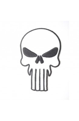 Application skull with bilacere thermal-adhesive patch patch 60x50 mm