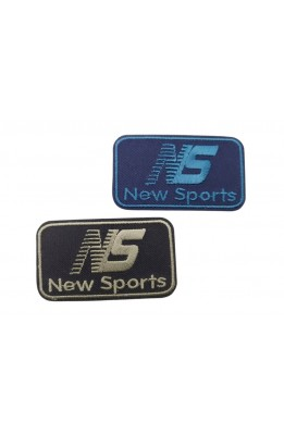 Application Patch thermal-adhesive Embroidered Scudetto Sport 7x7 Cm