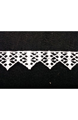 Macramé needle white high-25 mm model triangle patch 13 , 20 mt stok